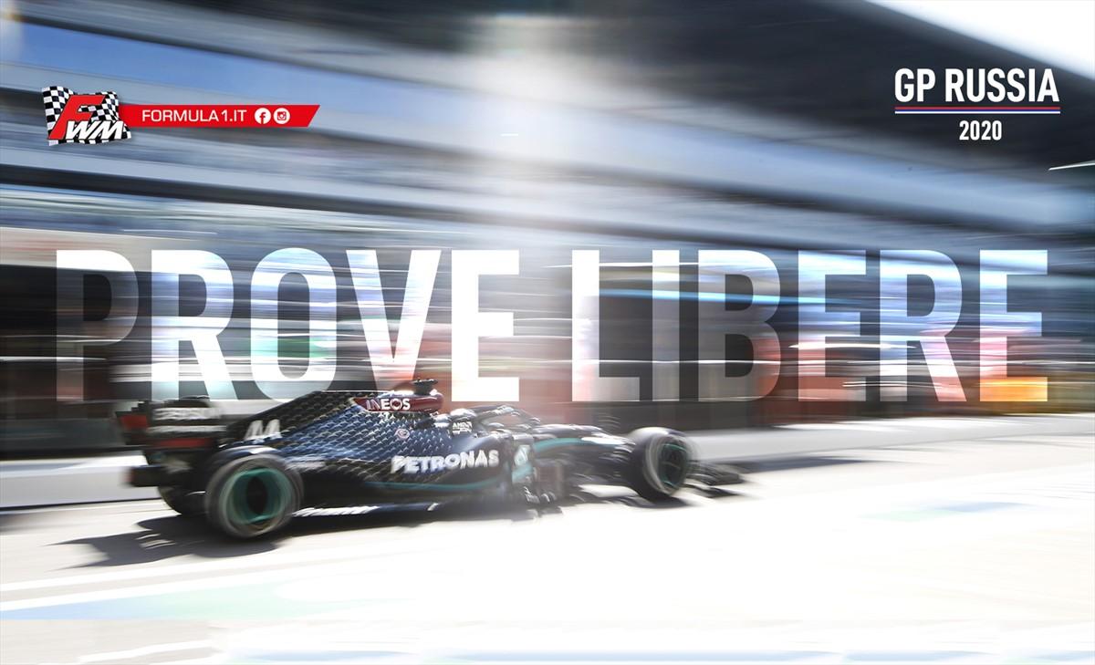 GP Russia, prove libere: Bottas insidia la leadership di Hamilton