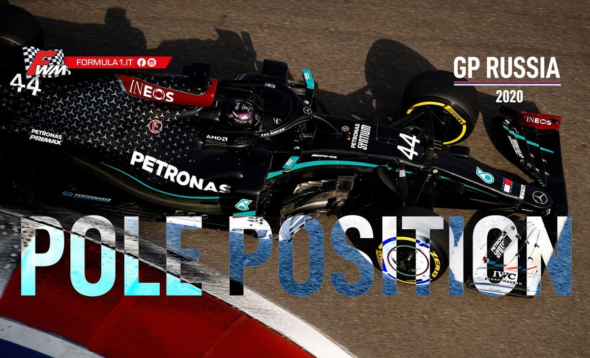 Gp Russia, qualifiche: Lewis Hamilton ad un passo dalla storia