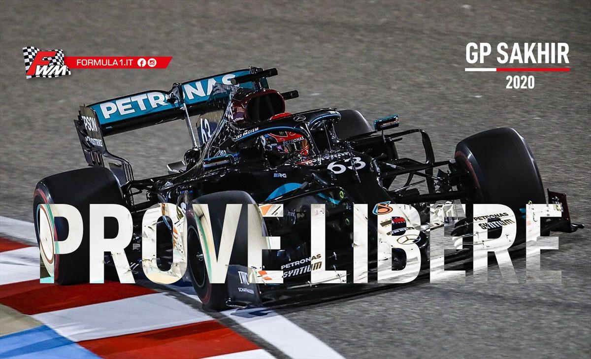 GP Sakhir, prove libere: Russell subito al comando in modalità Hamilton