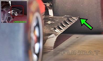 Gp Singapore: la Ferrari modifica nuovamente il fondo della SF70H