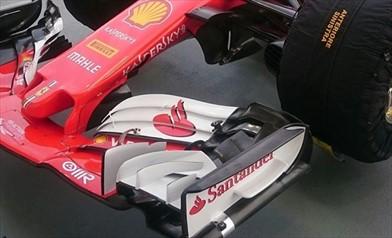 Gp Singapore: montate tutte le soluzioni da altissimo carico sulle Ferrari SF70H