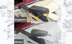 Gp Singapore - Alfa Romeo - Nuovi supporti specchietti