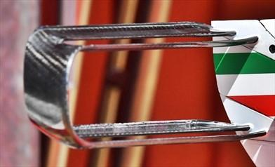 Gp Spagna: la Ferrari con la T Wing a doppio biplano