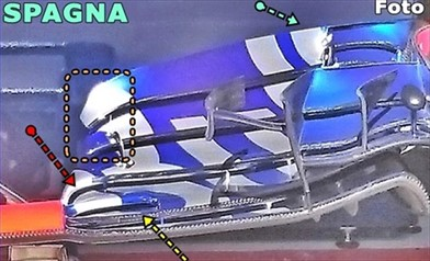 Gp Spagna: la Toro Rosso rivede l'ala anteriore della STR12
