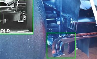 Gp Spagna: Mercedes W08 con novità sul diffusore