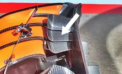 Gp Spagna: novità aerodinamiche ma anche 10 CV in più da Honda per la Mclaren MCL32
