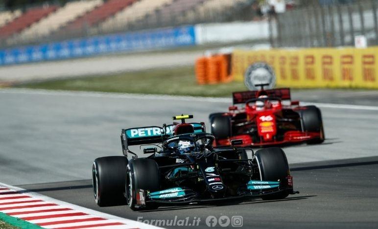 Gp Spagna - Prove libere - Mercedes ancora davanti