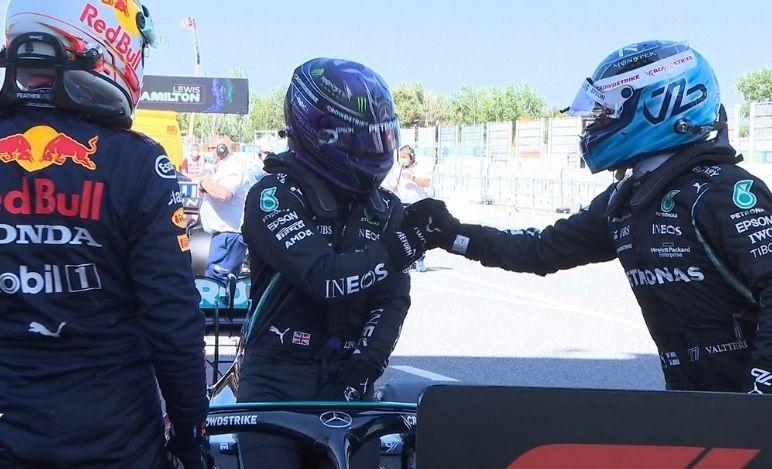 Gp Spagna - Qualifiche - 100 pole per Hamilton
