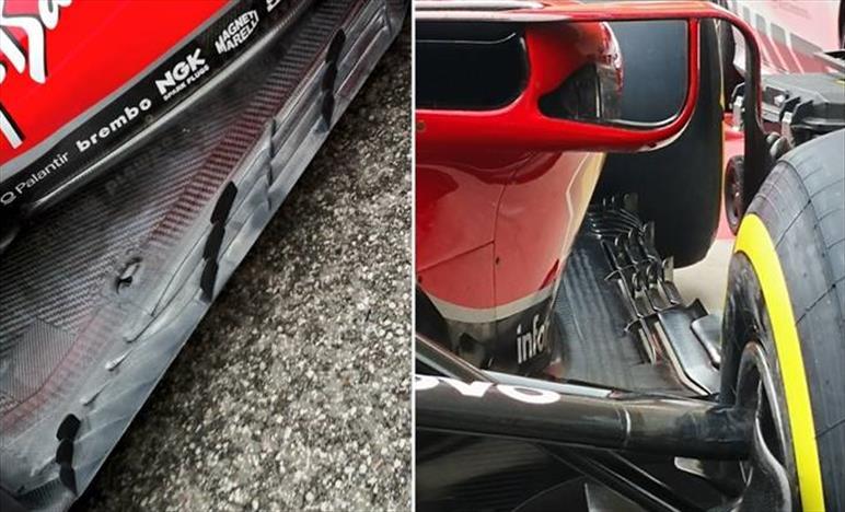 GP STATI UNITI - FERRARI SF71H: la Ferrari alza la cresta, sul fondo