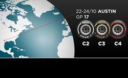 Gp Stati Uniti - Pirelli sceglie le mescole centrali per la pista riasfaltata