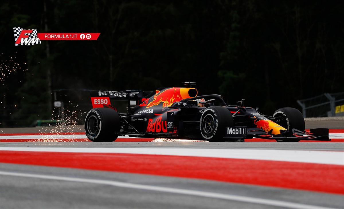 GP Stiria, prove libere: Verstappen il più veloce, Mercedes e Racing Point competitive