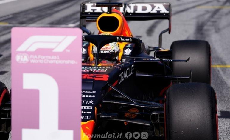 Gp Stiria - Qualifiche - Verstappen in pole nel primo Gp di casa Red Bull