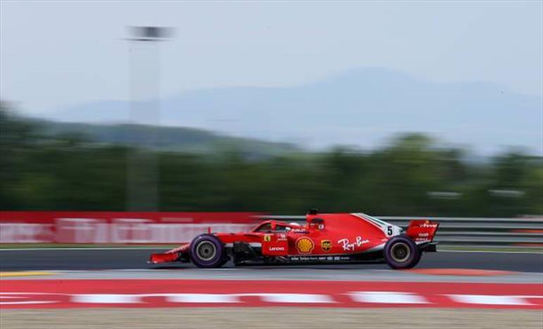 Gp Ungheria: Vettel davanti nelle seconde libere