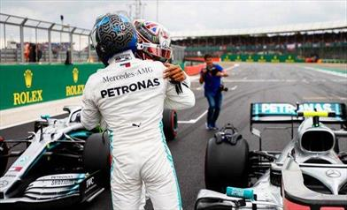 Gran Bretagna: Bottas ottiene la Pole per soli 6 millesi su Hamilton
