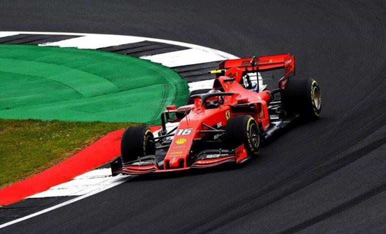 Gran Bretagna: Leclerc terzo a meno di un decimo dalla Mercedes, sesto Seb