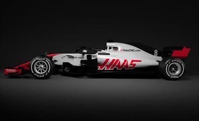 Haas, la prima F1 2018