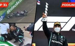 Hamilton ad Imola non ha infranto alcuna regola tornando in pista