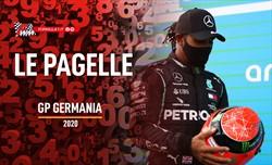 Hamilton come Schumi, la Ferrari naufraga: le pagelle del GP dell'Eifel