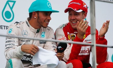 Hamilton e Vettel i favoriti in Spagna