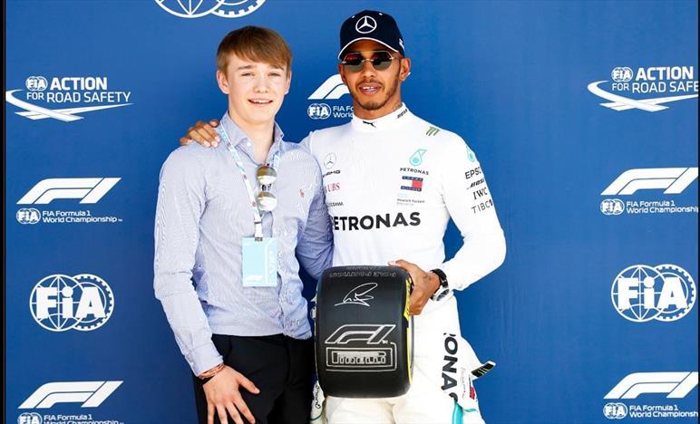 Hamilton, giro perfetto, oggi la pole più bella della mia carriera