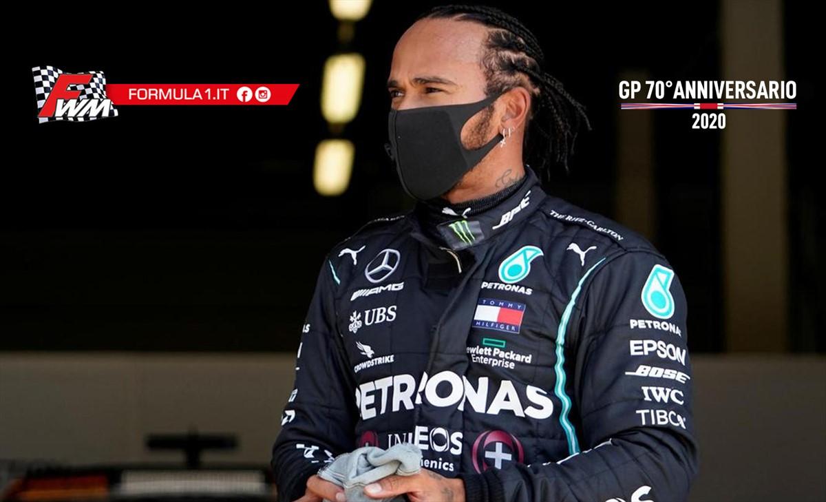 Hamilton: ho guidato con metà pneumatico