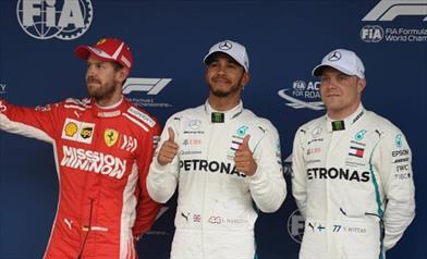 Hamilton si prende la pole nella qualifica dell'assurdo in Brasile, poi Vettel