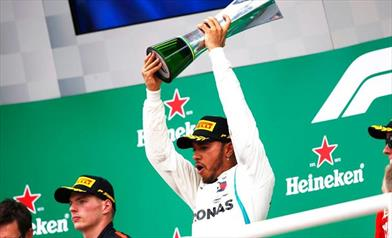 Hamilton vince in Brasile, rapinato Verstappen, Ferrari in ombra