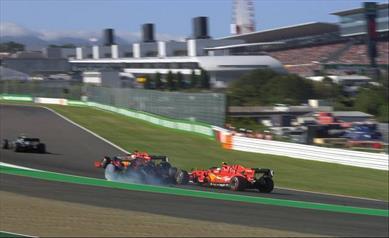 I commissari decidono di penalizzare Leclerc di 15 secondi finendo così in settima posizione - I commissari decidono di penalizzare Leclerc di 15, che termina in settima posizione