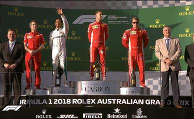 Il Gp d'Australia è di Vettel