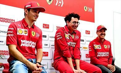 La Ferrari fa quadrato con Binotto puntando al pronto riscatto.