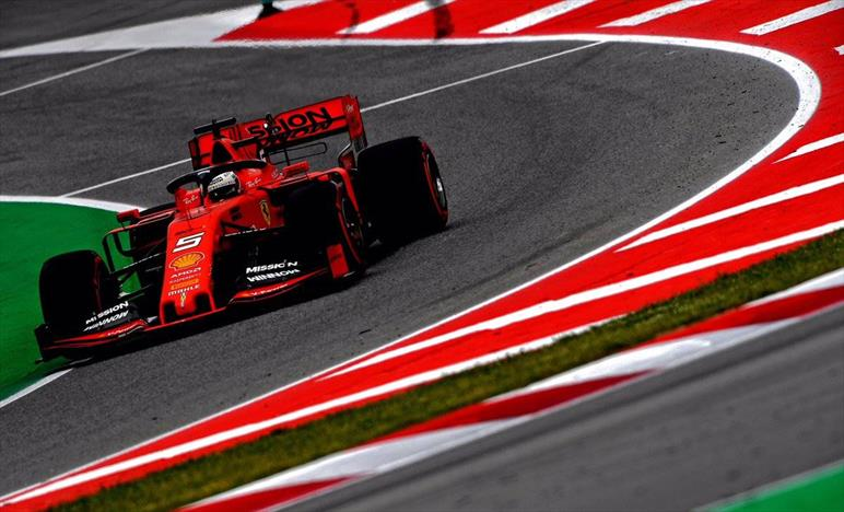 La Ferrari scatterà dalla terza e quinta posizione del Gp di Spagna