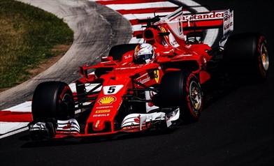 La Ferrari vola nelle FP3