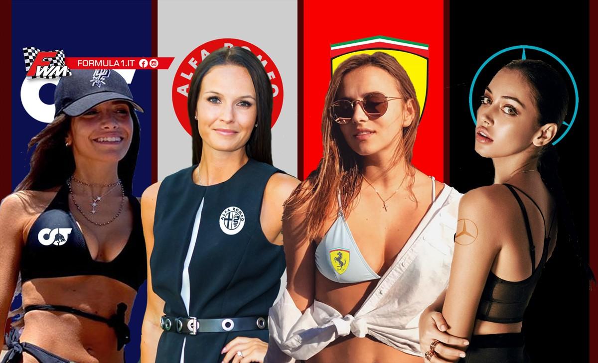 Le donne della Formula 1
