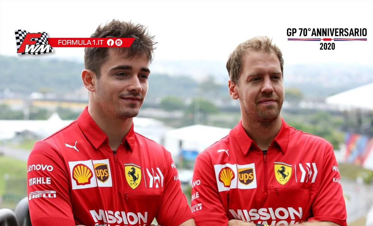 Leclerc e Vettel: siamo dove ci aspettavamo