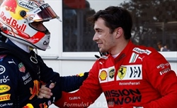 Leclerc: In Ferrari guidano le leggende. Ai tifosi dico...