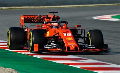 Leclerc leader, ma quanti incidenti in pista