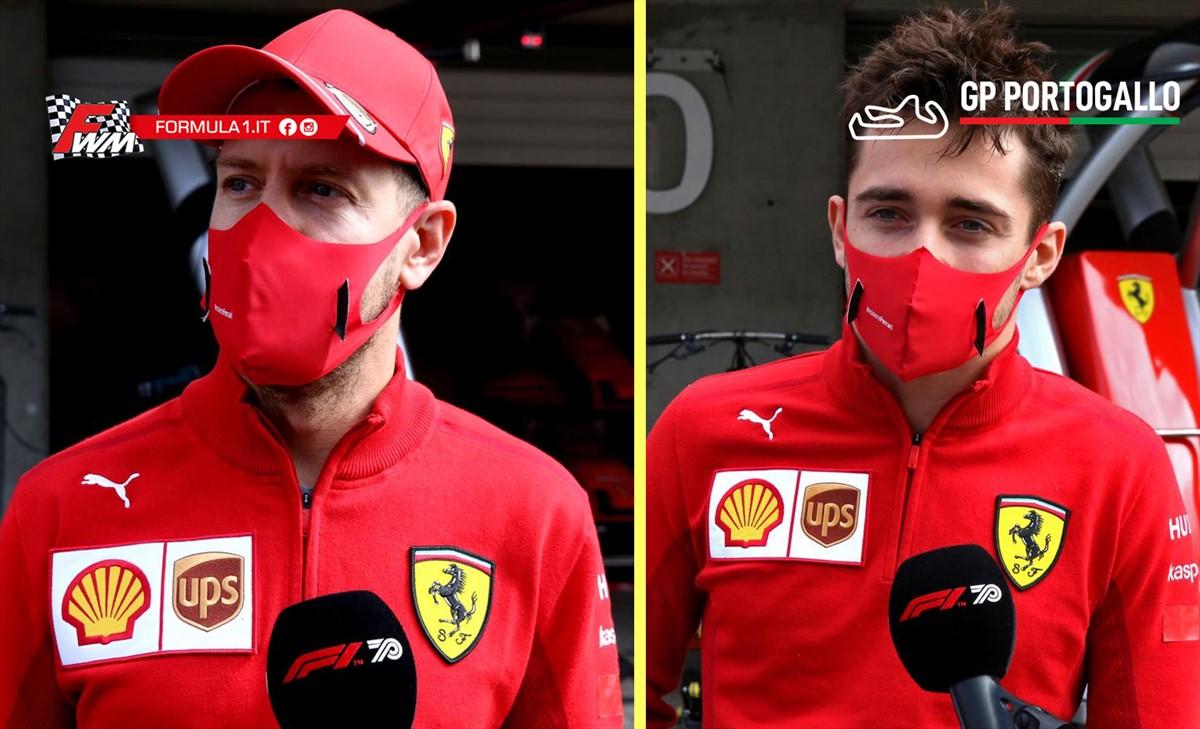 Ma Vettel e Leclerc corrono con la stessa macchina? Per la stessa scuderia?