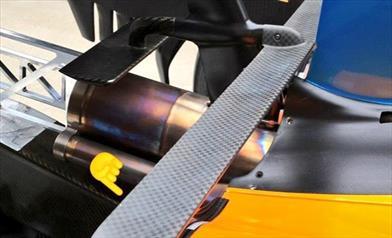 McLAREN MCL33: continua lo sviluppo aerodinamico ma il gap da recuperare è ancora molto
