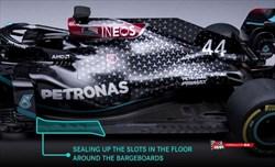 Mercedes nasconde i dettagli del fondo