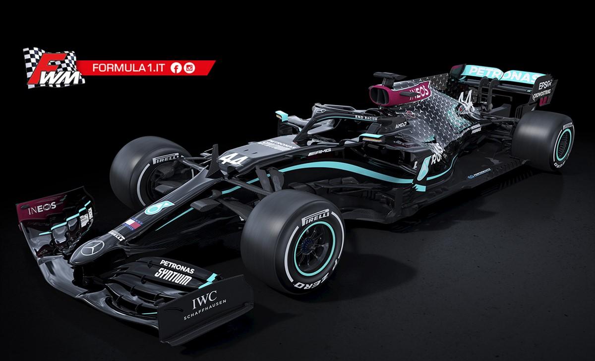 Mercedes passa in nero e guida il cambiamento