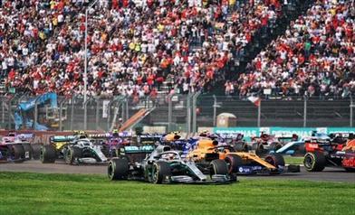 Messico: Paura per Hamilton con i contatti avuti al via, Vettel riconosce i meriti Mercedes