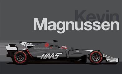 Nuova livrea per la Haas