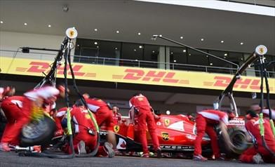 Pit-stop Ferrari