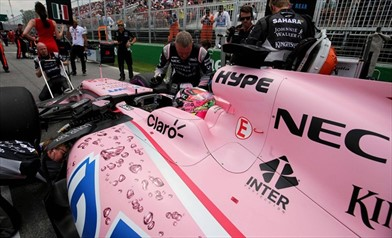 Nuovo nome per la Force India
