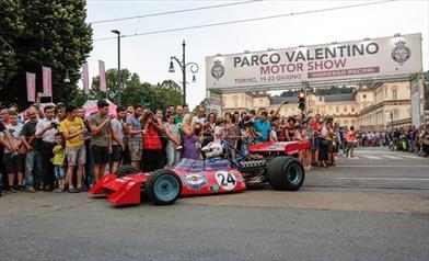 Parco Valentino 2019: la parata delle Formula1 a concludere la giornata inaugurale