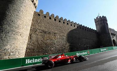 Per Vettel, a Baku ci sono tre auto alla pari - Per Vettel, a Baku ci sono tre auto alla pari