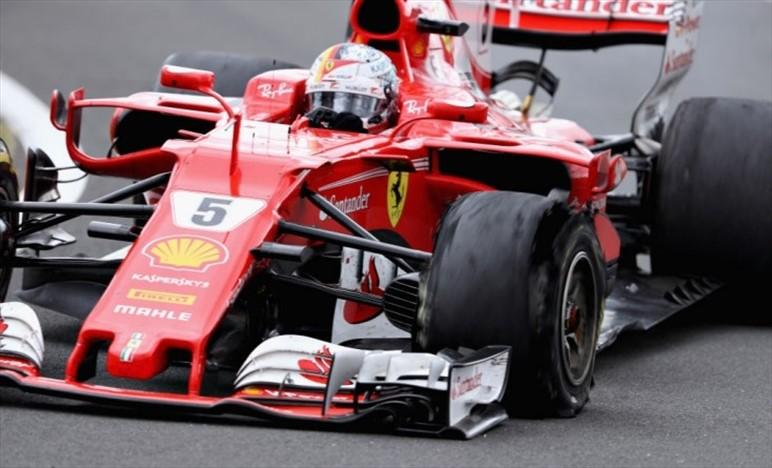 Pirelli ha concluso le indagini sul pneumatico di Vettel danneggiato a Silverstone