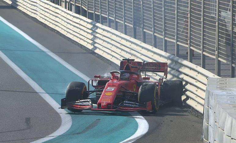 PL1 Abu Dhabi: Super Bottas con le Medie, Vettel chiude a muro