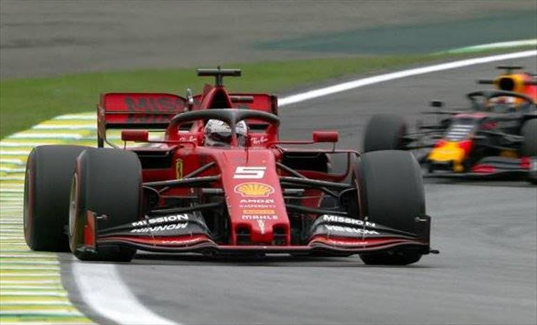 PL2 sull'asciutto ad Interlagos: Vettel davanti a Leclerc