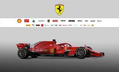 Presentazione della Ferrari SF71H